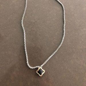 David Yurman Black Onyx necklace